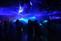 Schattenbilder der Tanzenleute Lizenzfreie Stockbilder