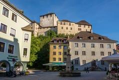 The Schattenburg castle in Feldkirch. Stock Photos