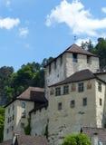 Schattenburg, Feldkirch, Autriche Photographie stock libre de droits