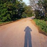 Schattenfrühlingsentscheidung besitzen die Weise stockbild