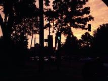 Schattensonne Stockbild