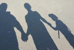 Schattenspaß Lizenzfreies Stockbild