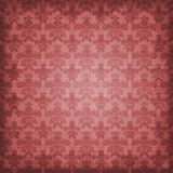 Schattierte rosige Farben-Damast-Hintergrund-Tapete Stockbild