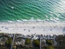 Schatz-Insel-Strand Florida lizenzfreies stockbild