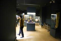 Schatz Königs Tutankhamen, ägyptisches Museum stockfoto