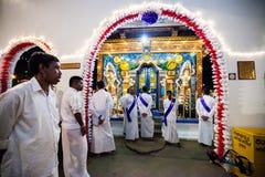 Schatzkammer in Kandy Esala Perahera Stockfotografie