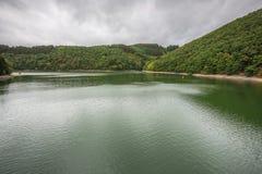 Schauen über dem oberen Sauer See lizenzfreie stockfotografie
