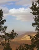 Schauen über Guadalupe-Felge Lizenzfreie Stockbilder