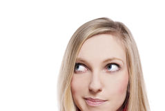 Schauen des Gesichtes Lizenzfreies Stockfoto