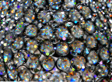 Schauen durch einen Kristallleuchter Lizenzfreie Stockfotografie