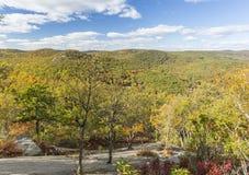 Schauen Nord von Bear Mountain Lizenzfreie Stockbilder