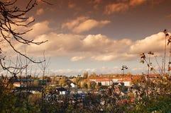 Schauen Sie über Altenburg Lizenzfreies Stockbild