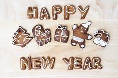 Schauen Sie durch mein Portefeuille, um mehr Bilder der gleichen Serie zu finden Glückliches neues Jahr Stockbild