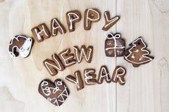 Schauen Sie durch mein Portefeuille, um mehr Bilder der gleichen Serie zu finden Glückliches neues Jahr Stockfotos