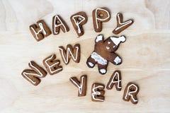 Schauen Sie durch mein Portefeuille, um mehr Bilder der gleichen Serie zu finden Glückliches neues Jahr Lizenzfreie Stockbilder