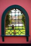 Schauen Sie durch orientalisches Fenster Lizenzfreie Stockfotografie