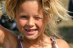 Schauen Sie Mamma, keine Zähne Lizenzfreies Stockfoto
