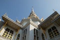 Schauen Sie oben den Tempel Stockfoto