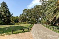 Schauen Sie vom Weg von Johannesburg-Zoo Stockfoto