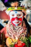 Schauen Sie von den Farben in Papua-Neu-Guinea Lizenzfreies Stockbild