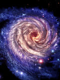 Schauen Sie zu den Mittelgalaxien