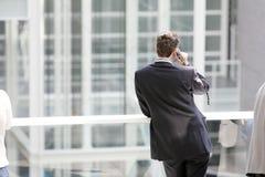 Schauen zur Zukunft Stockfotografie