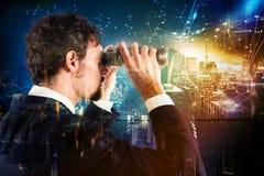 Schauen zur Zukunft Lizenzfreies Stockfoto