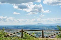 Schauend Ansichten Toskana stockbild