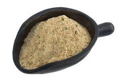 Schaufel der Brotkrumen lizenzfreies stockfoto