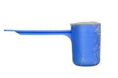 Schaufel des Schätzchenmilchpuders Stockfotos