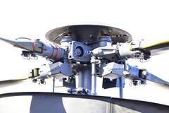 Schaufeln eines Hubschrauberrotors Stockbilder