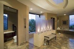 Schaukasten-Innenraum zu Hause Lizenzfreies Stockfoto