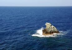Schaukeln Sie in das Meer Stockbild