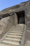 Schaukeln Sie Höhlen, Kanheri, Mumbai, Indien Stockfotografie