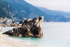 Schaukeln Sie in Monterosso-Alstute Cinque-terre, Ligurien, Italien Lizenzfreies Stockfoto