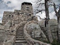Schaukeln Sie Turm und Treppenhaus im Black Hills von South Dakota stockbilder