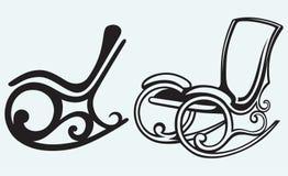 Schaukelstuhl stock illustrationen vektors klipart for Alter mann im schaukelstuhl