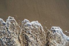 Schaum des Meeres Stockfotografie