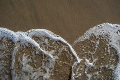 Schaum des Meeres Stockfoto