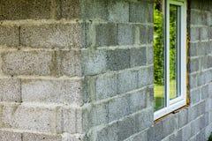 Schaum installiertes Fenster Lizenzfreie Stockfotos