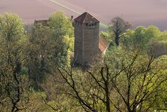 Schaumburg castle in Weserbergland germany Royalty Free Stock Image