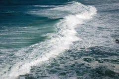 Schaumgummi von Ozean stockfoto
