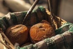 Schaumgummiringfrisches gebacken Stockfoto