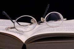 Schauspiel und Buch Stockfotos