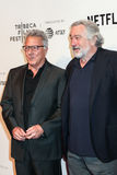 Schauspieler Dustin Hoffman und Robert De Niro Lizenzfreie Stockfotografie