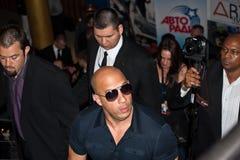 Schauspieler Vin Diesel in Moskau 2011 Stockfotos