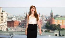 Schauspielerin Angelina Jolie stockfoto