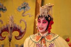 Schauspielerin in der chinesischen Oper Lizenzfreies Stockfoto