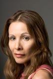 Schauspielerin Headshot Stockbild
