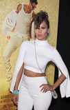 Schauspielerin Jen Morillo Strikes eine sexy Haltung Stockbild